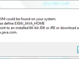exe4j java home 32 bit