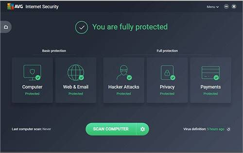 AVG Internet Security Free